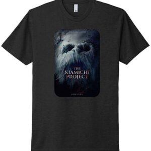 Kiamichi Project Movie Poster Tshirt-black