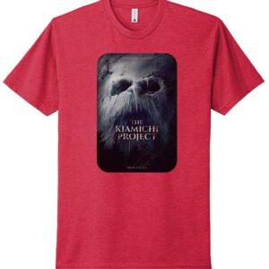 Kiamichi Project Movie Poster Tshirt-red